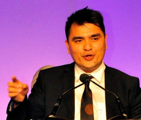 Jose Antonio Vargas: 'A country built and replenished by immigrants.' Photo by Elton Lugay