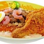 Palabok and Chicken Joy combo