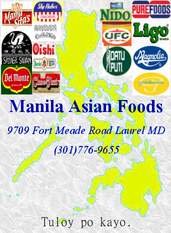 Manila Asian Foods. Tuloy po kayo.