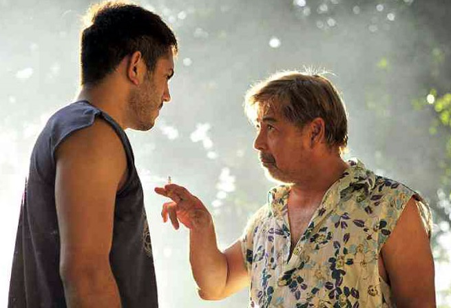 The characters of Joel Torre (right) and Gerald Anderson are about to embark on a new 'job.'