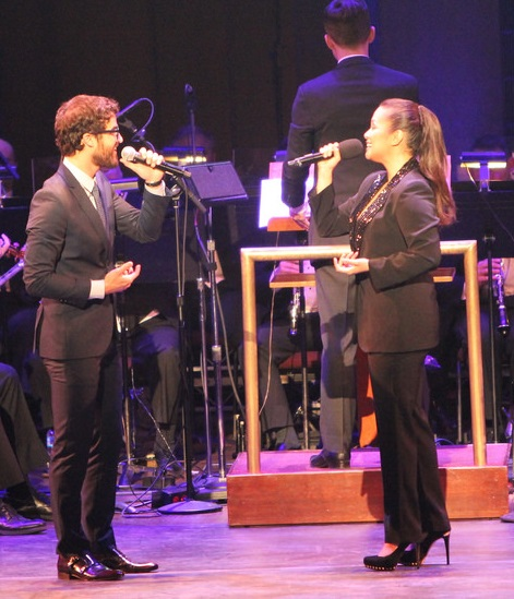 Lea Salonga and Darren Criss did a duet from 'Aladdin.' Photos courtesy of the Philippine Embassy