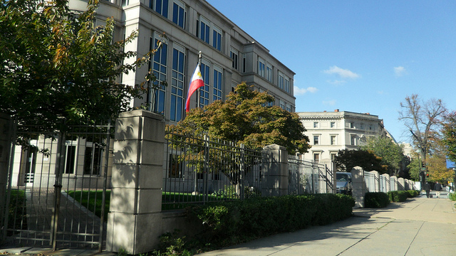 The Embassy has about a dozen people, who provide consular services to those in its jurisdiction