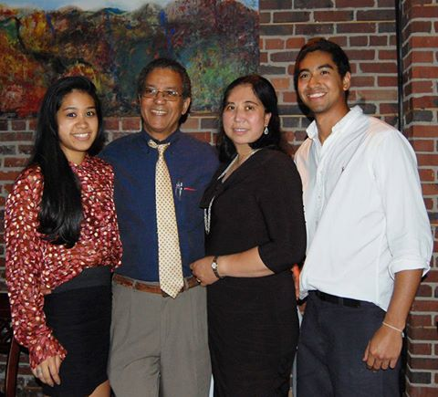 The author with her husband Floyd and their children Ayana and Michael (far right) celebrating Michael's graduation from the University of Maryland at College Park