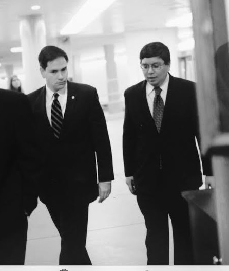 Senator Marco Rubio said 'Cesar brings a wealth of policy, legislative, political and management experience' as his Chief of Staff.