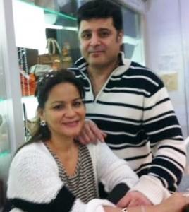 Maryann and husband Behzad Samadi