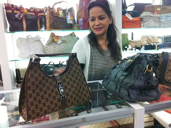 In the bag: Maryann Samadi's pre-owned luxury bags business. TFLA photo