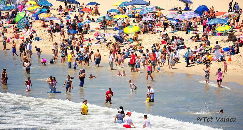 Santa Monica Beach. TheFilAmLA photo by Tet Valdez