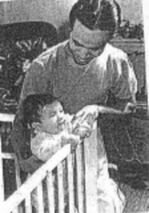 A photo of Frank Perez in the 'Filipinotown' anthology
