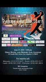 Dancing Like the stars flyer