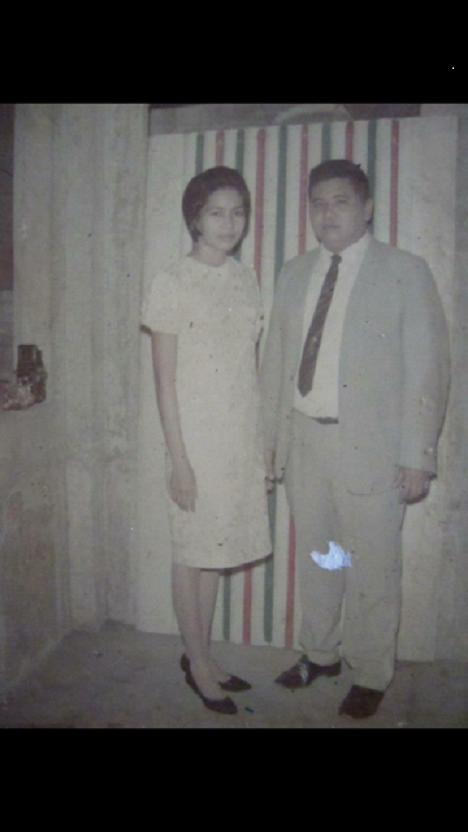 My papa Antonio Suzara with my mama Cecilia Suzara.