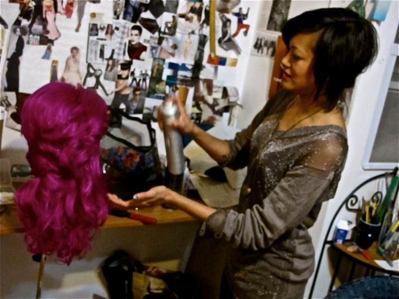 leslie-wig-styling