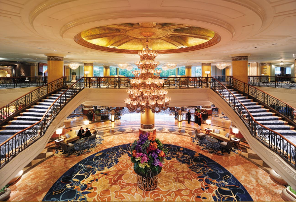 The Makati Shangri La Hotel Main Lobby