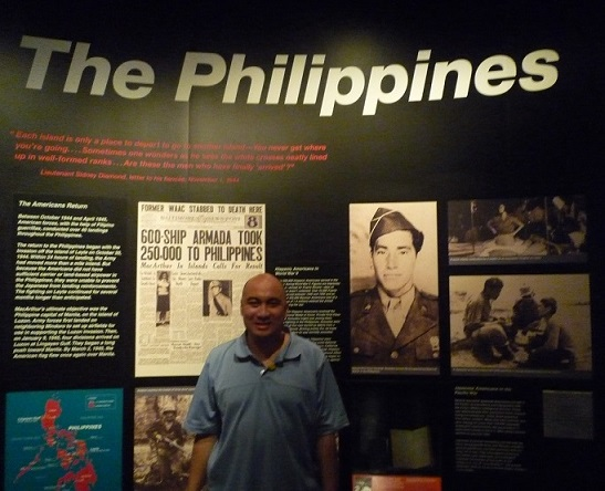 The Philippine gallery of the World War II Museum in New Orleans