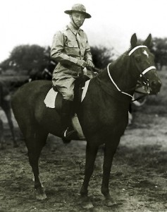 He led the last horse-mounted cavalry charge in the history of the U.S. Army.
