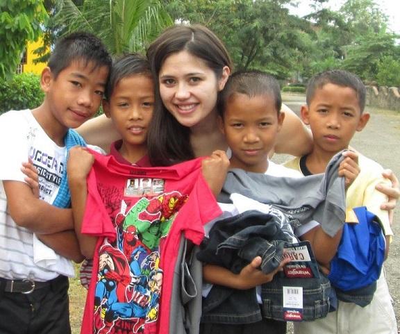 Maya's Hope 'superstars' at San Martin de Porres Home for Children in Bulacan