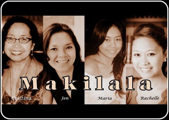 The ladies of 'Makilala,' -- Cristina DC Pastor, Jen Furer, Maria Cruz Lee and Rachelle Ocampo