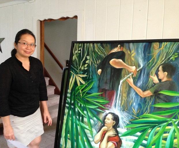 Lorina Tayag-Capitulo: A loner who loves creating art