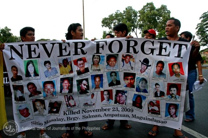 The National Union of Journalists of the Philippines keeps the memory of murdered colleagues alive