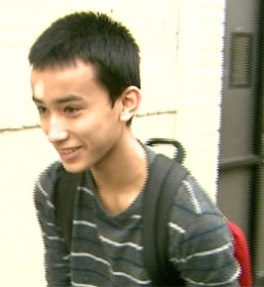 Justin Casquejo: vilified, applauded. Photo: CBS 2
