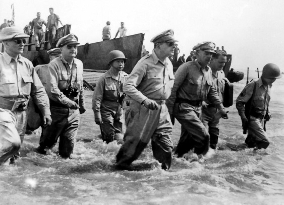 The Leyte Landing of 1944