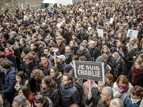 More than a million gather around the City of Lights to make a stand against religious extremism and violence