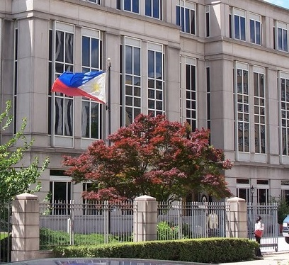 The Philippine Embassy building in Washington D.C.