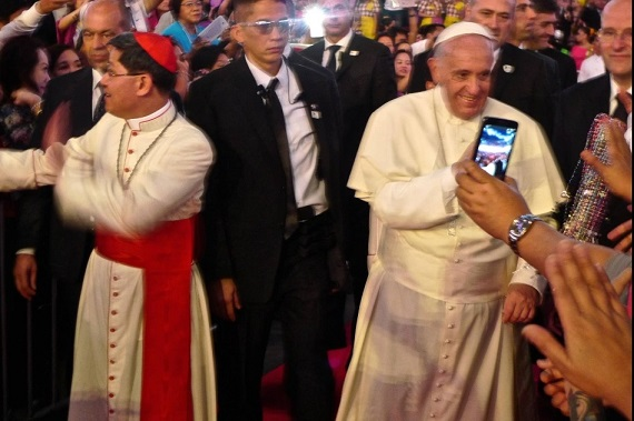 Pope Francis: 'I could feel how special and holy he was'
