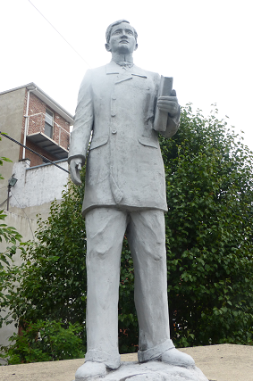 The Jose Rizal statue in Jersey City: $2K to maintain