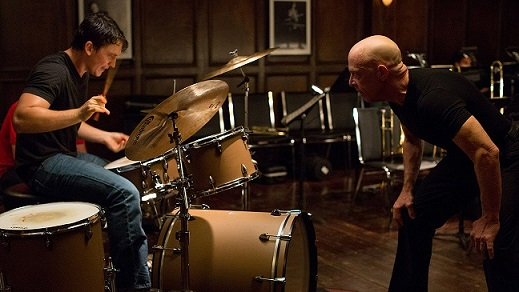 Oscar-worthy performances by Teller and J.K. Simmons as his tormentor