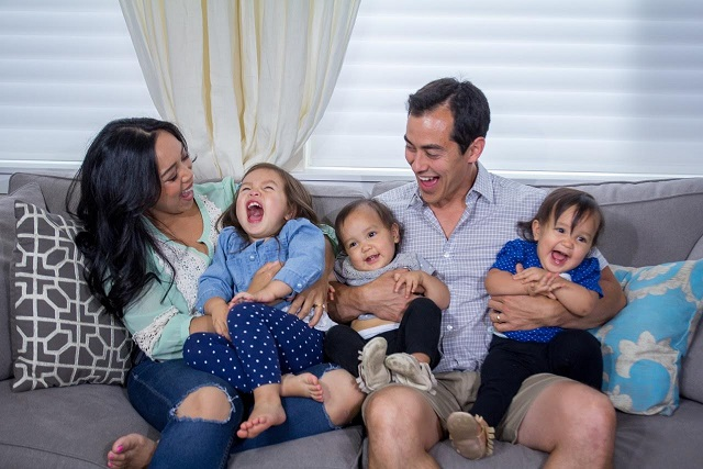 Judith and Benji Travis with daughters Julianna, Miyako, and Keira. She has at least 4 million YouTube followers