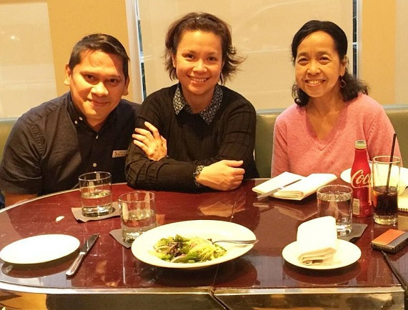 Lea Salonga in wide-ranging interview with authors
