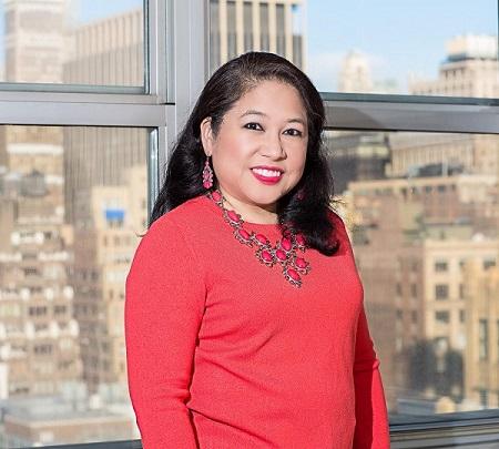 Penn South resident Jocelyn Bernal Ochoa: 'Happy in my building.' Photo by Edwin Ochoa