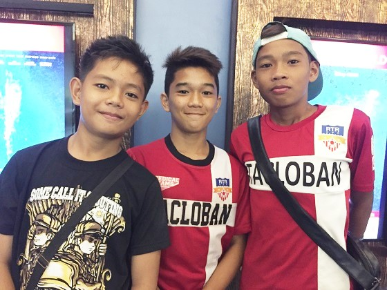 Tacloban boys Kenneth Imperial, Julius Coringcoting and Jarred Troy Regis: From trauma to triumph