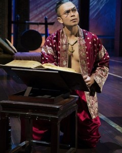 Jose in a scene from Lincoln Center Theatre's production of 'The King and I.' Photo by Paul Kolnik