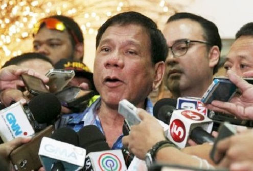 President-elect Duterte: 'If you are a decent journalist, no one will do you harm.'