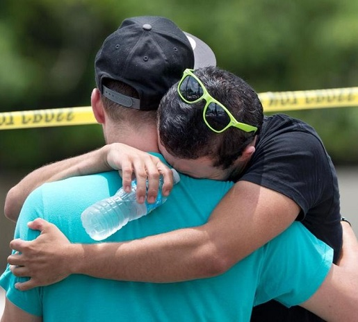 June 12, a Sunday, supposedly a day for Faith,  became a day for killing. Getty photo