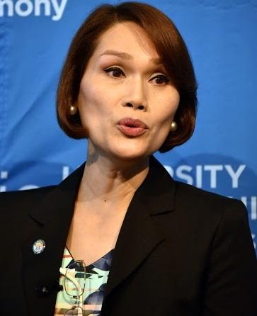 Congresswoman-elect Geraldine Roman: 'Filipinos becoming more open.' Photos by Ellen Wallop/Asia Society