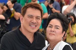 With Director Brillante Ma. Mendoza at the Cannes Film Festival.