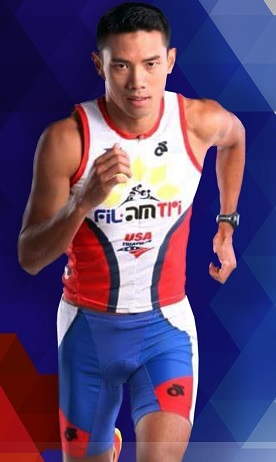 Pro triathlete Arland Macasieb