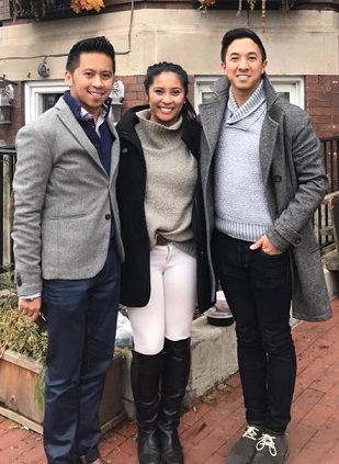 Millennial leaders take the helm at NaFFAA. From left: Brendan Flores, Kelly Ilagan, and Jason Tengco.