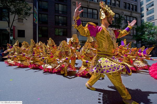Pure pageantry at the annual Philippine Independence Day Parade on Madison Avenue. PIDCI photo
