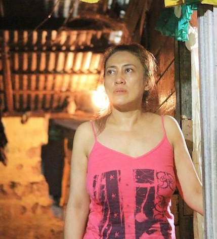 Ai-ai delas Alas is Hillary, a woman who depends on a local brothel for her survival