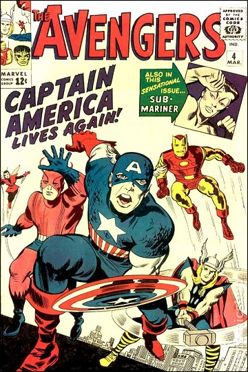 The Avengers by Marvel Comics.  The film adaptation was a blockbuster.
