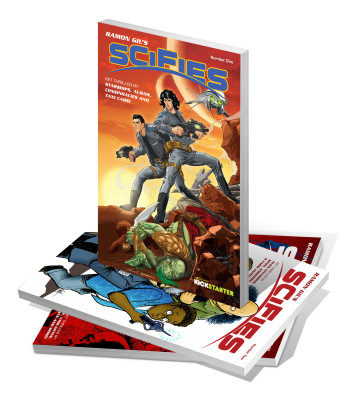 Gil's Scifies comic anthology