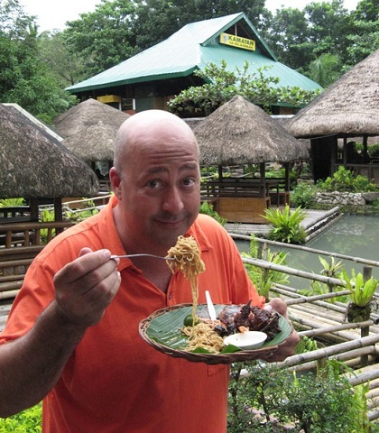'Bizarre Foods with Andrew Zimmern' featured the Philippines on the Travel Channel. 'Balut,' or fertilized duck egg, earned a special mention for being weirdly exotic. Photo: The Travel Channel