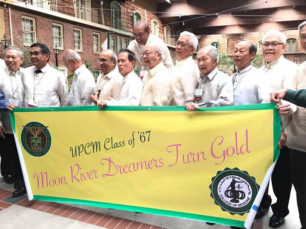 A banner of accomplishments, the gentlemen of '67.