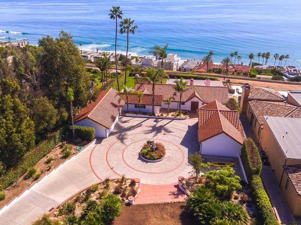 A beachfront estate