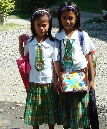 Panay Island school girls