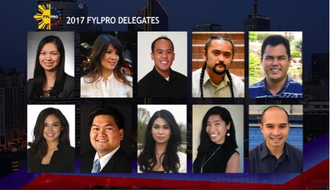 FYLPRO's 10 delegates for this year
