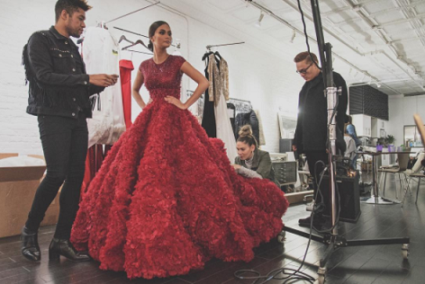 2015 Miss Universe Pia Wurtzbach: 'Nerve-wracking, exciting shoot'